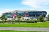 Donbass-arena.new del estadio de fútbol para la eurocopa-2012. — Foto de Stock