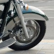 Motorcycle Wheel. - Stock Photo