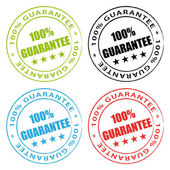 100% Guarantee. Vector stamps set. — Vetorial Stock