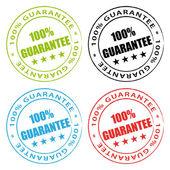 100% Guarantee. Vector stamps set. — Vetorial Stock