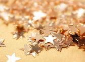 Estrellas de oro — Foto de Stock