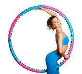 Fitness vrouw — Stockfoto