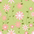 Spring seamless pattern — Stockvektor