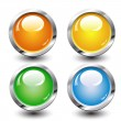 Set of buttons — Stock Vector #8794366