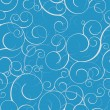Royalty-Free Stock Imagen vectorial: Seamless pattern with swirls