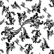 Royalty-Free Stock Imagem Vetorial: Black seamless pattern