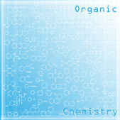Chemical background — Stock Vector