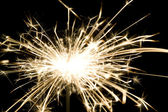 Background made from light of sparkler — Stock Photo