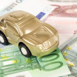 Buy car for euro money — Stock Photo