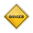 Danger Sign — Stock Vector #10275377