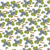 Grape Seamless Background — Stock Vector