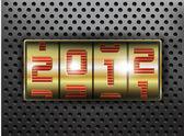 2012 New Year — Cтоковый вектор