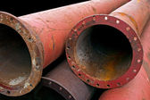 Industrial pipes — Stock Photo