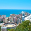 Nice view of Malaga. — Stock Photo