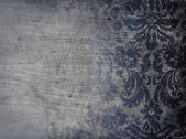 Grunge damask — Stock Photo