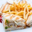 Chicken sandwich — Foto de Stock