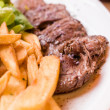Juicy steak beef — Stockfoto