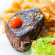Stock Photo: Juicy steak