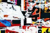старые плакаты гранж текстуры — Стоковое фото