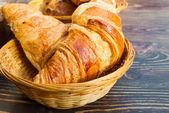 Croissant fresco — Foto Stock