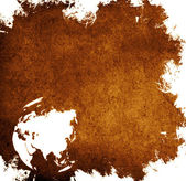 Mapa de ásia envelhecido — Fotografia Stock