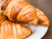 Fresh croissant — Stock Photo