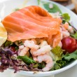 Stock Photo: Fresh seafood salad