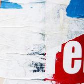 Viejos carteles — Foto de Stock