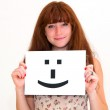 Smile face sign — Stock Photo #8573716