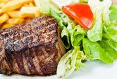 Saftiges Steak-Rindfleisch — Stockfoto