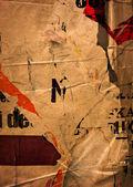 старые плакаты — Стоковое фото