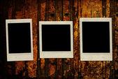 Ročník instantní fotografie — Stock fotografie
