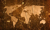 старинными карта мира — Стоковое фото