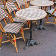 Stock Photo: Cafe terrace