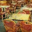 Old-fashioned Cafe terrace — Stock Photo #8908787