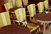 Cafe terrace — Stock Photo