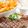 Delicious juicy steak beef meat — Stock Photo #9022516