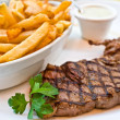 Delicious juicy steak beef meat — Stock Photo #9022525