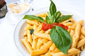 Italian meat sauce pasta — Stock Photo