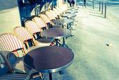 Coffee terrace — Stock Photo