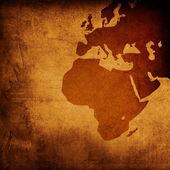 äldre europa karta — Stockfoto
