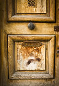 Wooden door grunge textures — Stock Photo