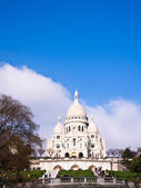Kyrkan i montmartre — Stockfoto
