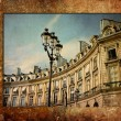 Stock Photo: Old-fashioned paris france