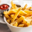 Golden French fries — Stock Photo #9738274