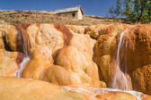The geysers of Ampefy — Stock Photo