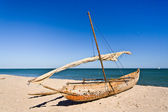 Outrigger canoe — Stock Photo