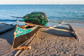 Outrigger canoe — Stock Photo