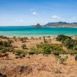 the sugarloaf of antsiranana bay — Stock Photo