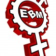 EBM Logo 16 - Stock Vector